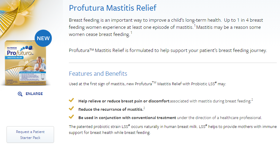 Mastitis relief